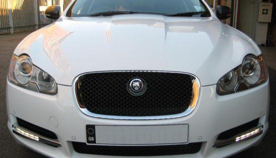 Jaguar XF Daylight Running Lights
