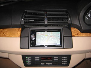 BMW X5 double din