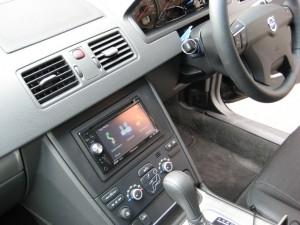 Volvo XC90 with aftermarket nav