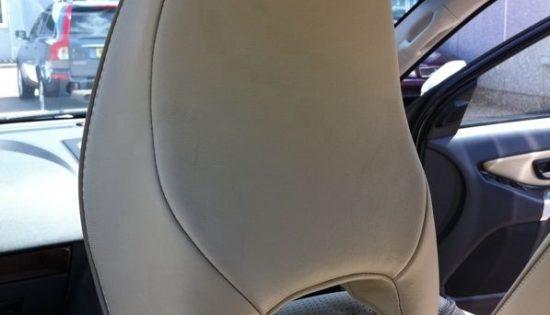 Volvo XC90 with Rosen headrest kit