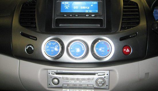 Mitsubishi L200 SatNav install