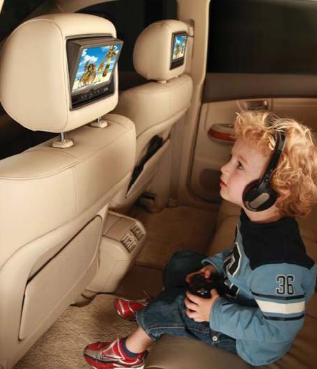 New Rear Seat Entertainment