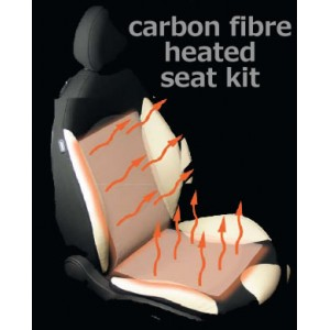Carbon Fibre Comfort Heated Seats