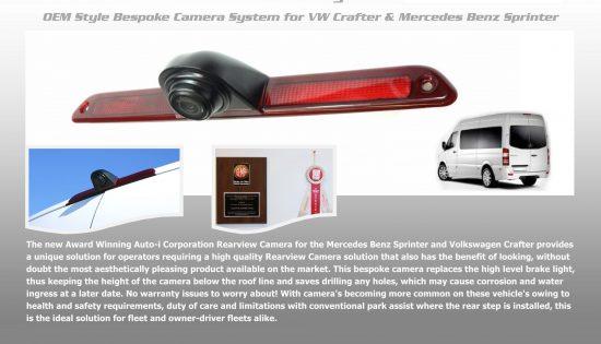 Rearview camera Crafter/Sprinter