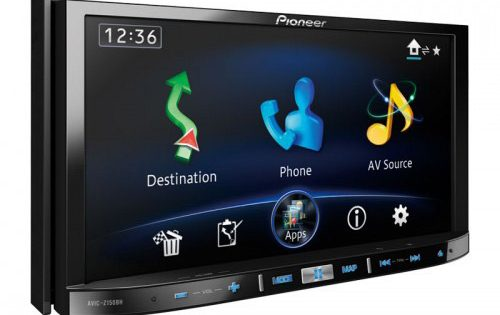 Pioneer integrates iPhone5
