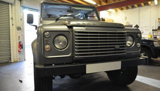 Land Rover Defender :: Audio Upgrades